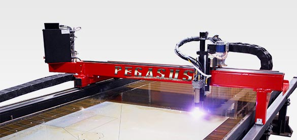 Pegasus CNC Plate Cutting Machine by Valley Cutting Systems